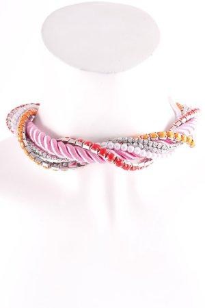 H&M Halskette mehrfarbig extravaganter Stil