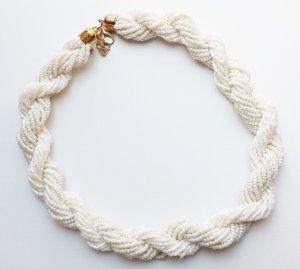 H&M Halskette weiß/gold - neu