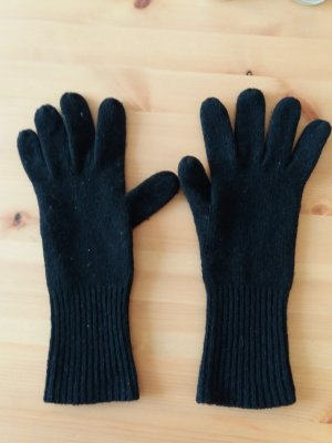 H&M Gloves black mixture fibre