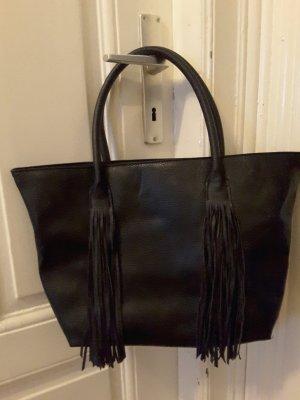 H&M Handtasche mit Fransen