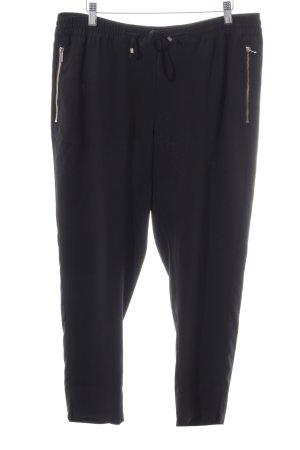 H&M Pantalón estilo Harem negro look casual