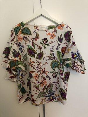 H&M Short Sleeve Shirt white