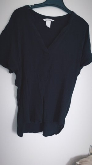 H&M Short Sleeve Shirt black