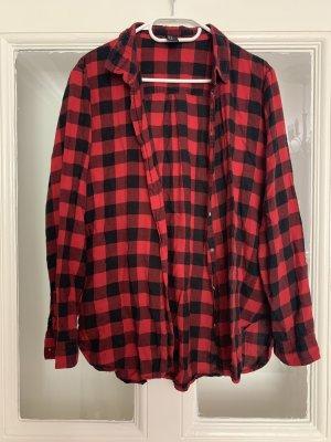 H&M Lumberjack Shirt black-red