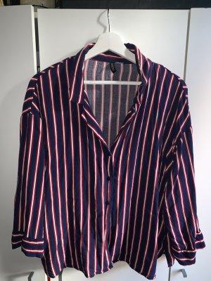 H&M Blouse Collar multicolored