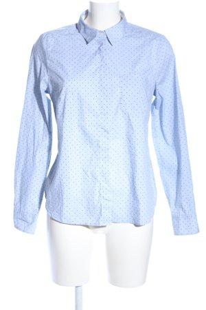 H&M Blouse-chemisier bleu motif de tache style décontracté
