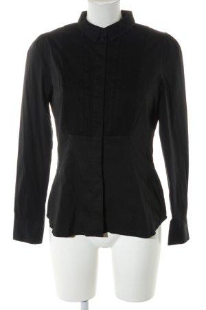 H&M Blouse-chemisier noir style d'affaires