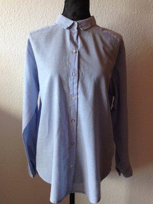 H&M Hemd Bluse hellblau klassisch