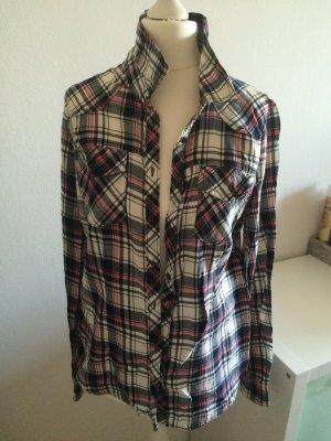 H&M Hemd Bluse Kariert Flanel Shirt 38 M neu