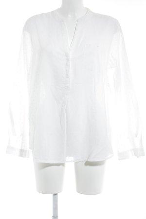 H&M Hemd-Bluse weiß