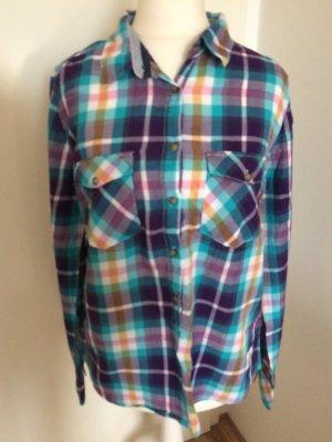 H&M Hemd S 36 neu kariert Shirt Bluse Herbst Winter