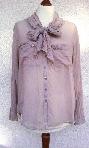 H&M Blusa collo a cravatta multicolore Cotone