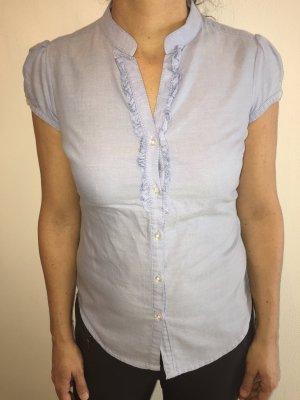 H&M Hemdbluse mit Streifen und Rüsche