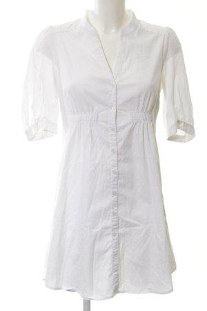 H&M Abito blusa camicia bianco stile casual