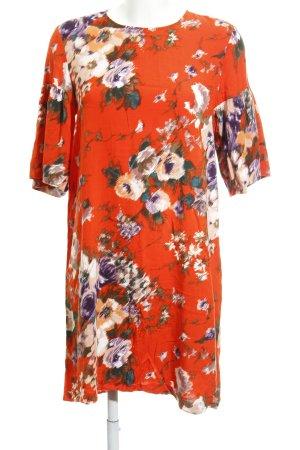 H&M Abito blusa camicia stampa integrale stile casual
