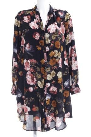 H&M Hemdblusenkleid Blumenmuster Romantik-Look