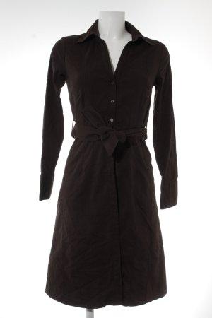H&M Hemdblusenkleid dunkelbraun Casual-Look