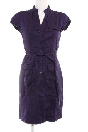 H&M Hemdblusenkleid dunkelviolett Casual-Look