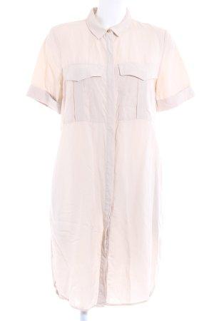 H&M Robe chemise beige clair style safari