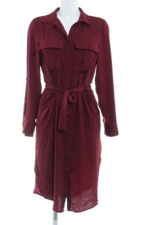 H&M Hemdblusenkleid karminrot Elegant
