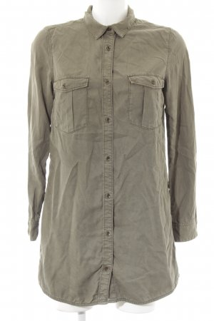 H&M Hemdblusenkleid khaki Casual-Look