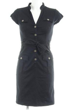 H&M Abito blusa camicia nero stile casual