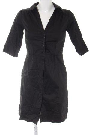 H&M Shirtwaist dress black casual look