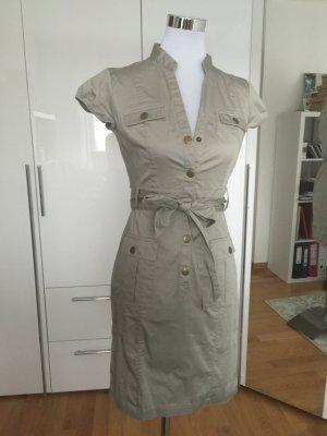 H&M Hemdkleid beige Gr. 36