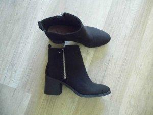 H&M Herbst Ankle Boots Blockabsatz nur einmal getragen