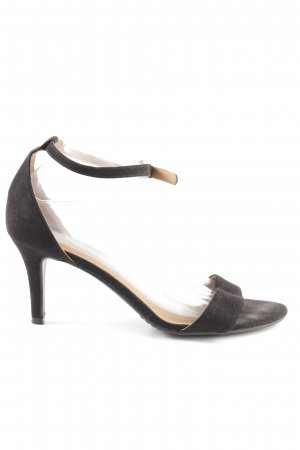 H&M High Heel Sandaletten schwarz Business-Look