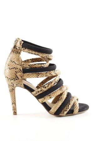 H&M High Heel Sandaletten abstraktes Muster Elegant
