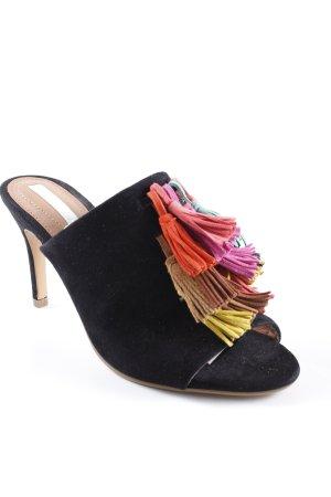 H&M High Heel Sandaletten mehrfarbig Elegant