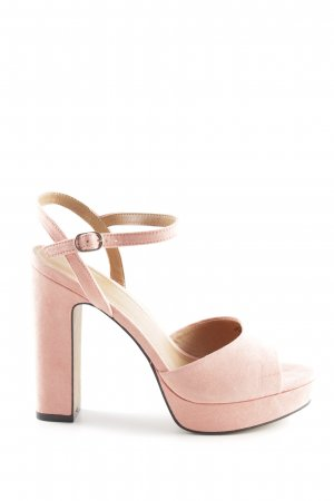 H&M High Heel Sandaletten rosa Party-Look