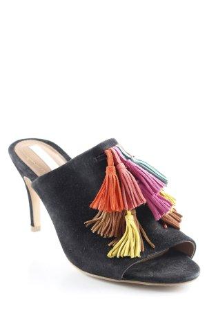 H&M High Heel Sandaletten schwarz 90ies-Stil