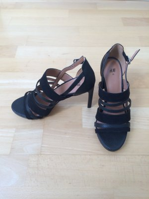H&M High Heel schwarz 39