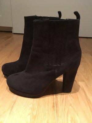 H&M - High Heel Stiefelette (Schwarz)