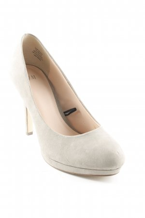 H&M High Heels graugrün Elegant