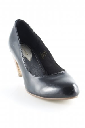 H&M High Heels schwarz Business-Look