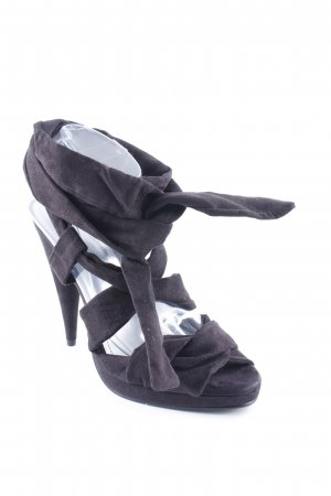 H&M High Heels schwarz Party-Look