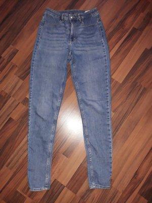 H&M High Waist Trousers cornflower blue