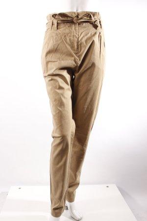 H&M High Waist Chino beige