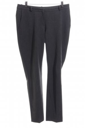 H&M High Waist Trousers black flecked business style