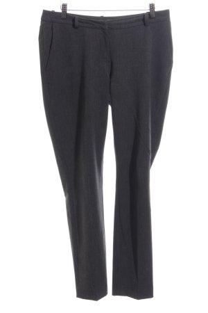 H&M Pantalone a vita alta nero puntinato stile professionale