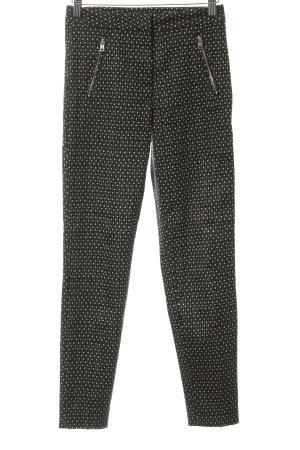 H&M High-Waist Hose abstraktes Muster Casual-Look