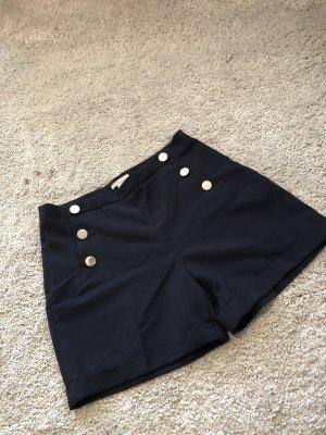 H&M High-Waist-Shorts dark blue