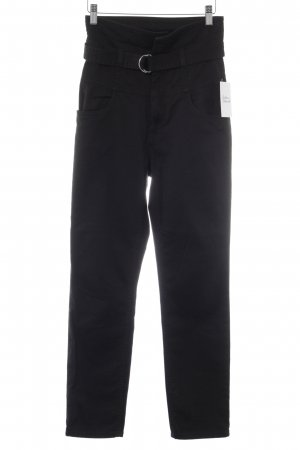 H&M High-Waist Hose schwarz Street-Fashion-Look