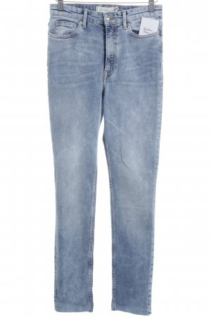 H&M High Waist Jeans mehrfarbig Street-Fashion-Look