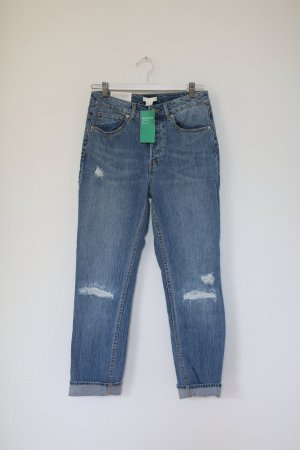 H&M Carrot Jeans steel blue
