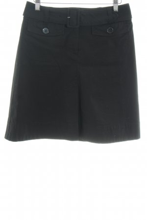 H&M High Waist Skirt black casual look