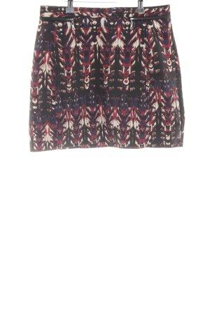 H&M High Waist Skirt allover print casual look